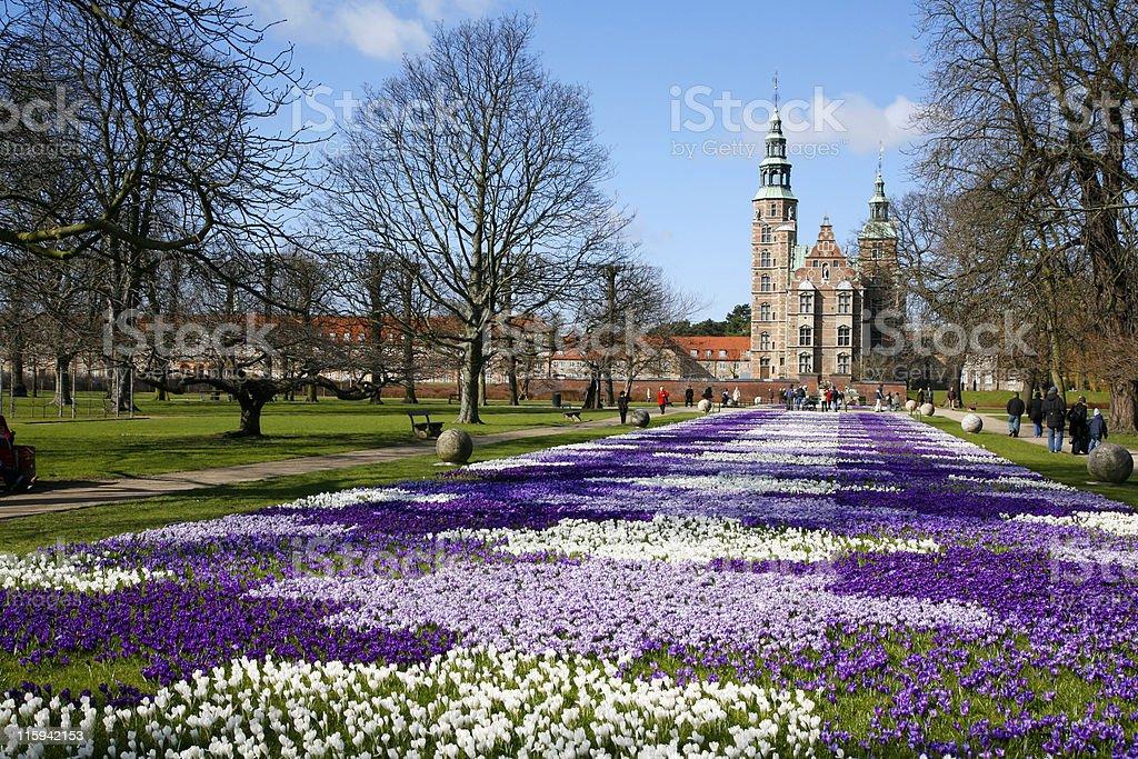 Rosenborg Castle stock photo