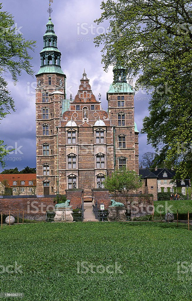 Rosenborg royalty-free stock photo