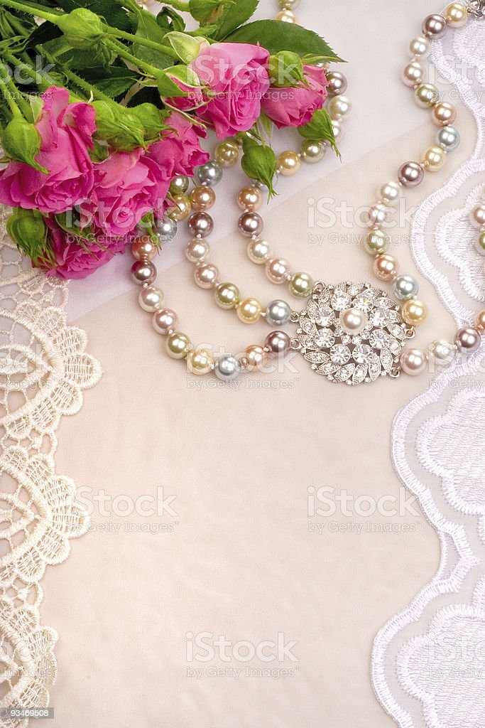 Roses and luxury royalty-free stock photo