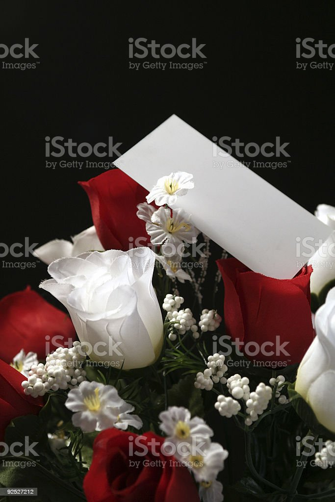 roses over black royalty-free stock photo