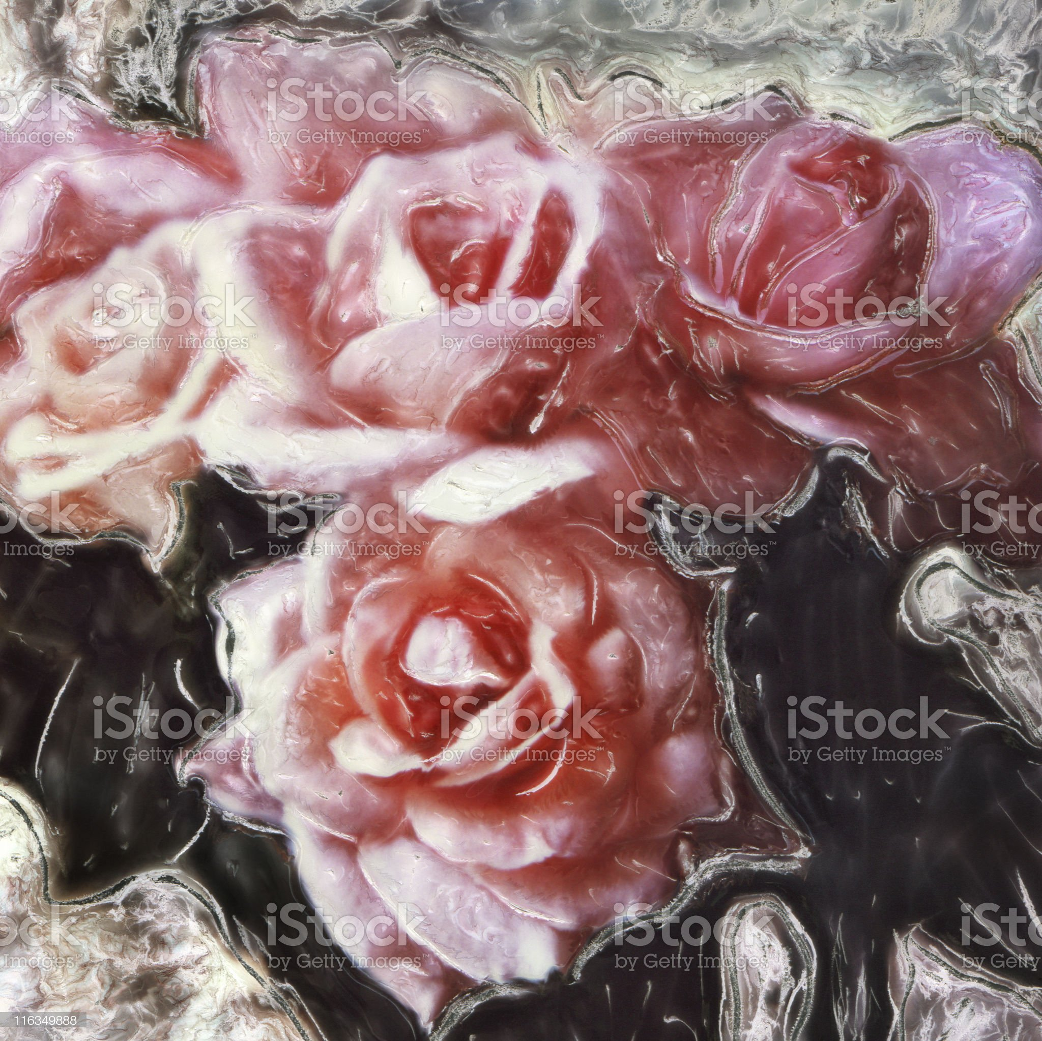 Roses royalty-free stock vector art