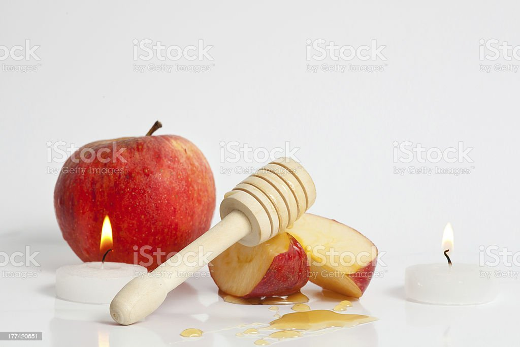 Rosh Hashana Jewish New Year royalty-free stock photo