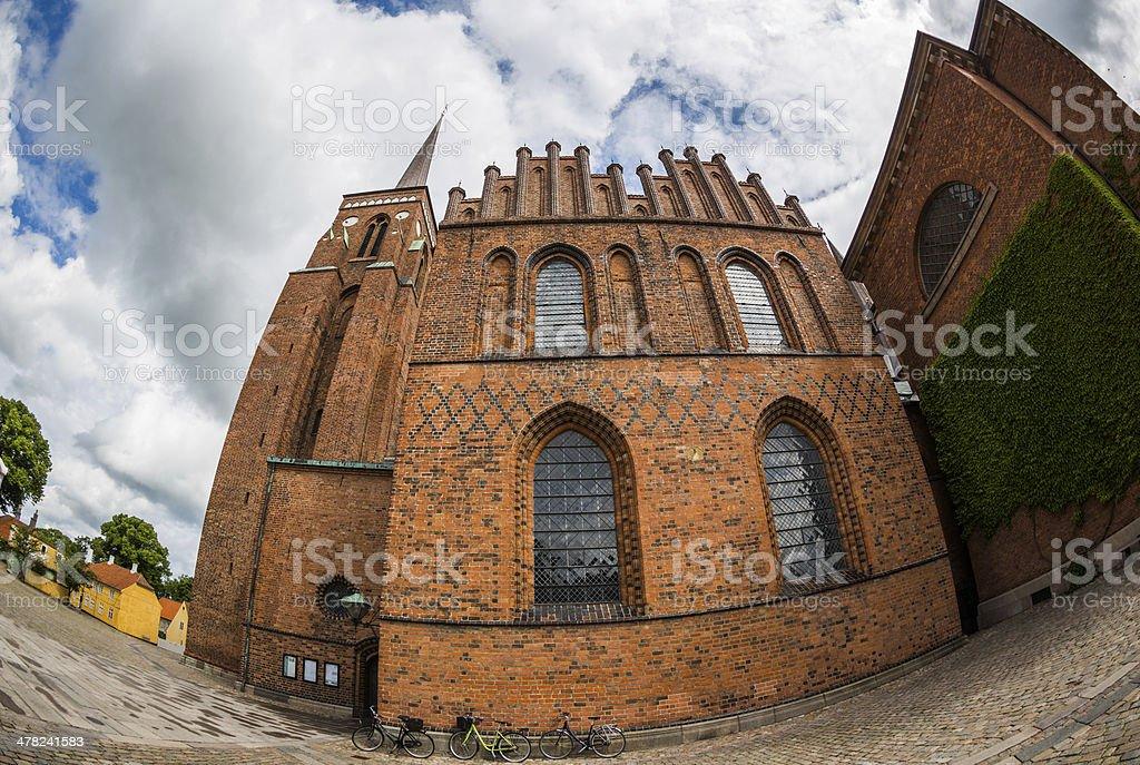 Roskilde cathedral, Chapel of the Three Wise Men stock photo