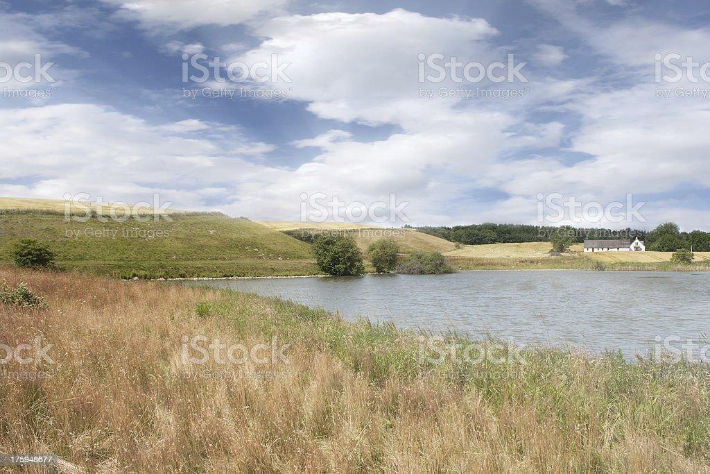 roskilde danish country stock photo