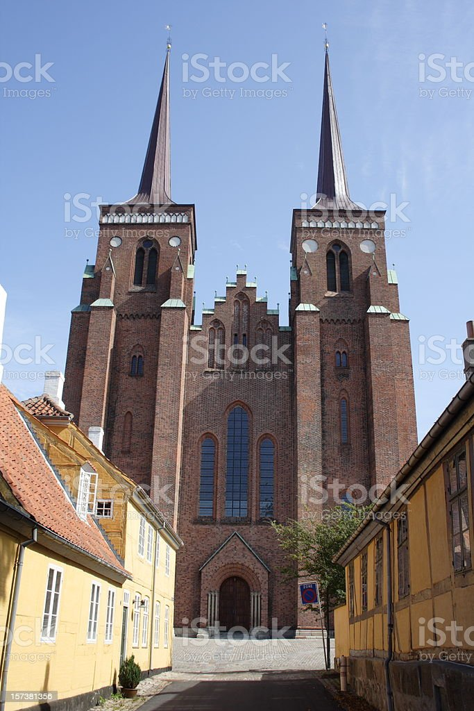 Roskilde Domkirke Cathedral - Tomb of the Kings! stock photo