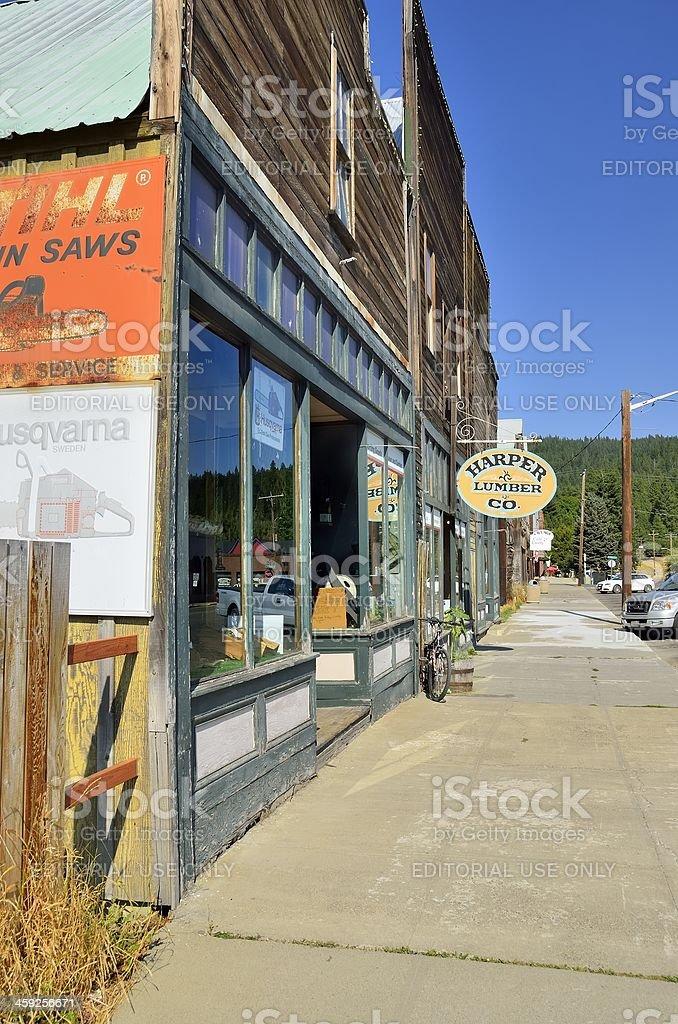 Roslyn, Washington royalty-free stock photo
