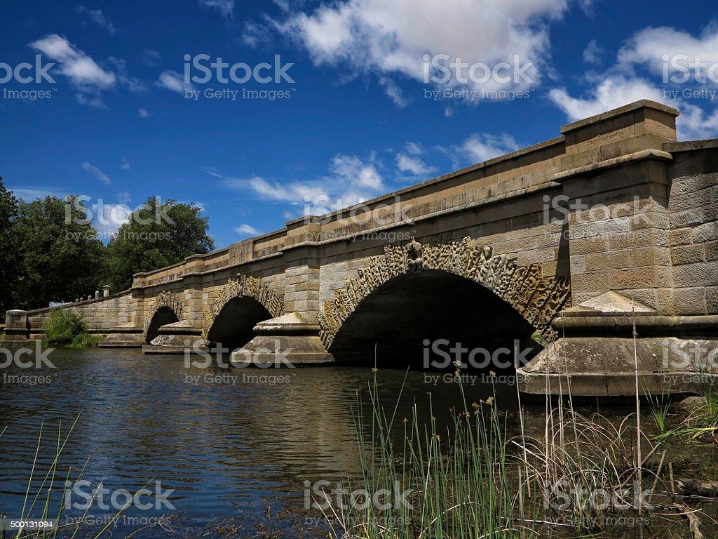 Ross Bridge Tasmania stock photo