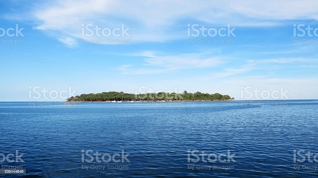 Ross Island stock photo