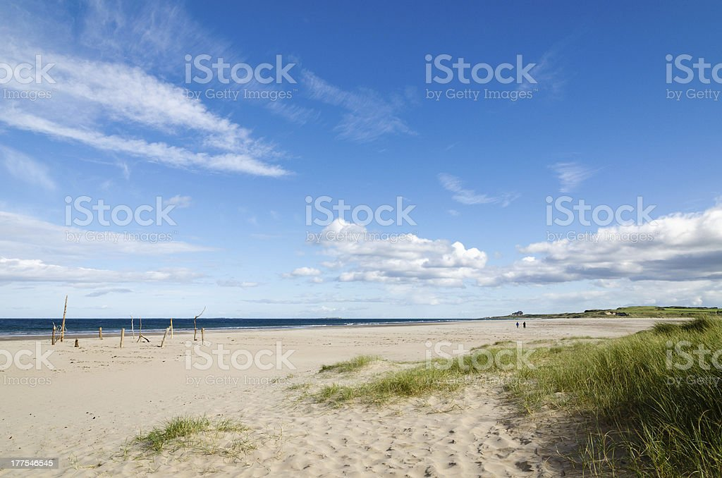 Ross Sands beach royalty-free stock photo
