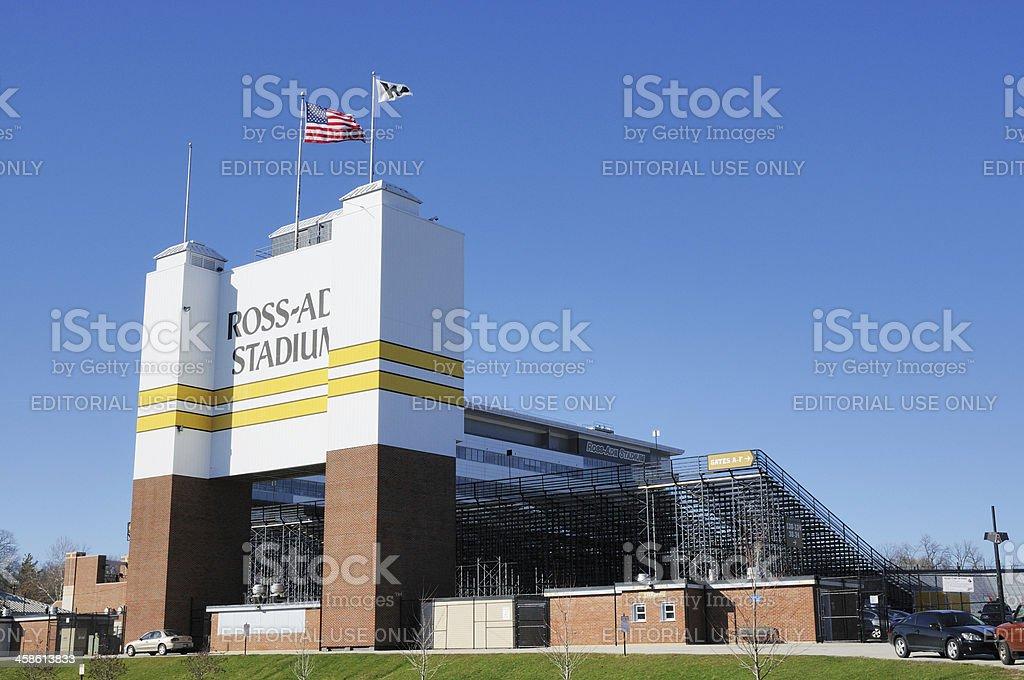 Ross-Ade Football Stadium on the campus of Purdue University stock photo