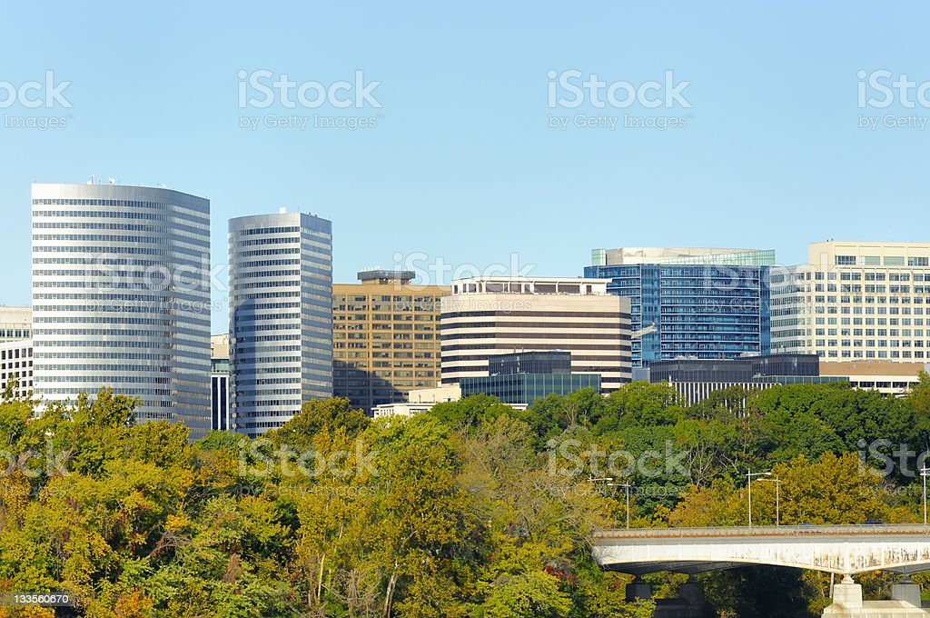 Rosslyn Virginia royalty-free stock photo