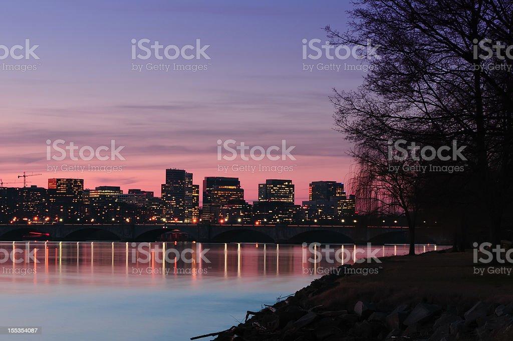 Rosslyn Virginia stock photo