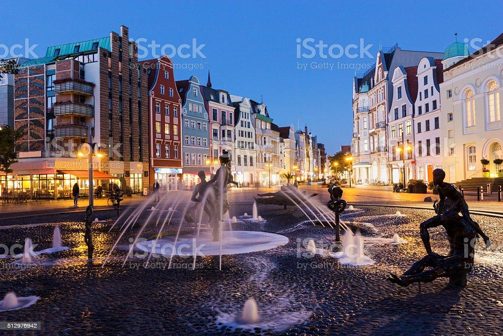 Rostock in Germany stock photo