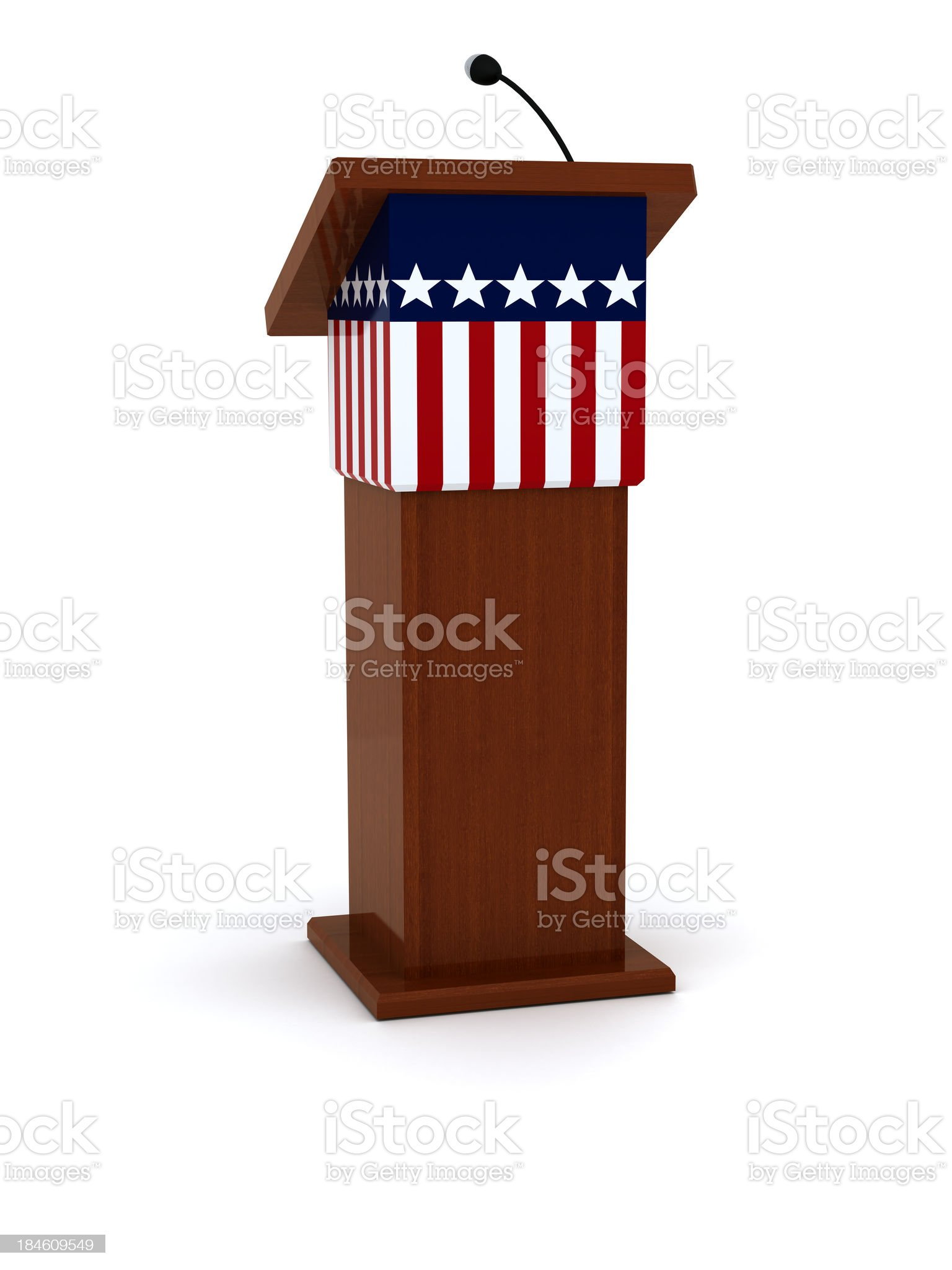 Rostrum royalty-free stock photo