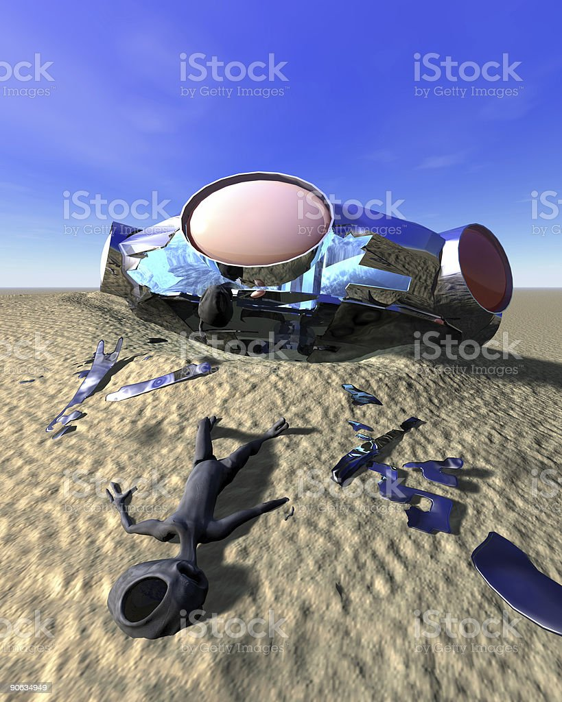 Roswell Like stock photo