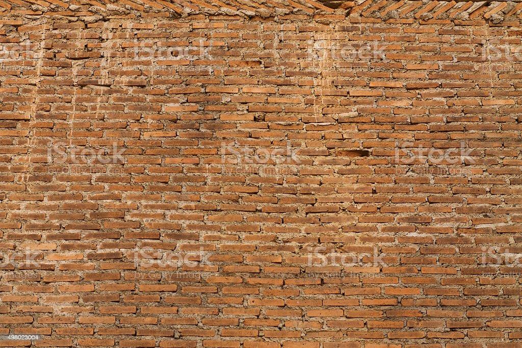 rot away wall stock photo
