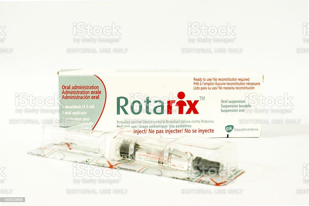 Rotarix vaccine stock photo