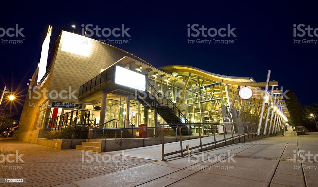 Rotary Center for the Arts in Kelowna stock photo