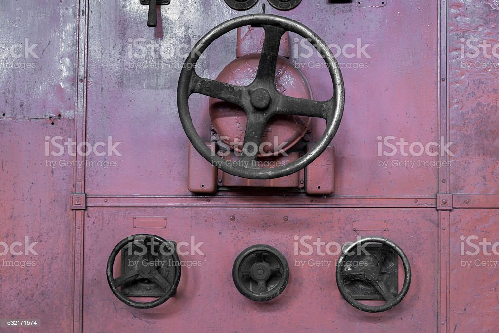Rotary Control Switches stock photo