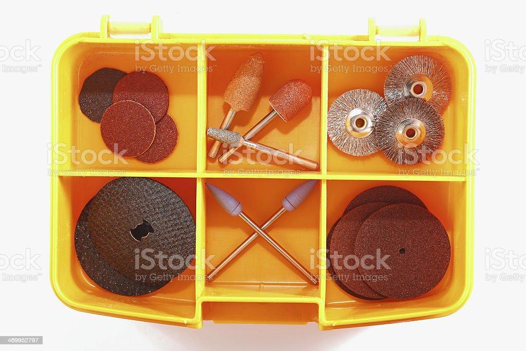 Rotary Tool Bits stock photo