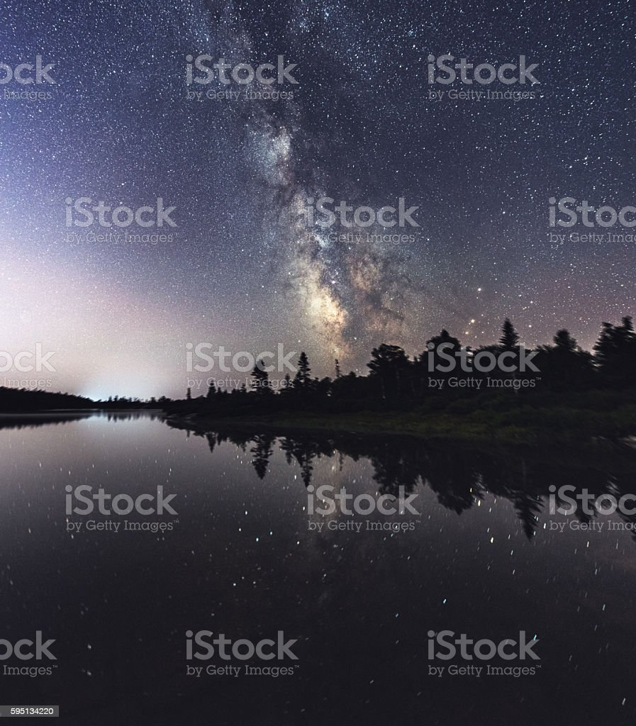 Rotate with the Galaxy stock photo