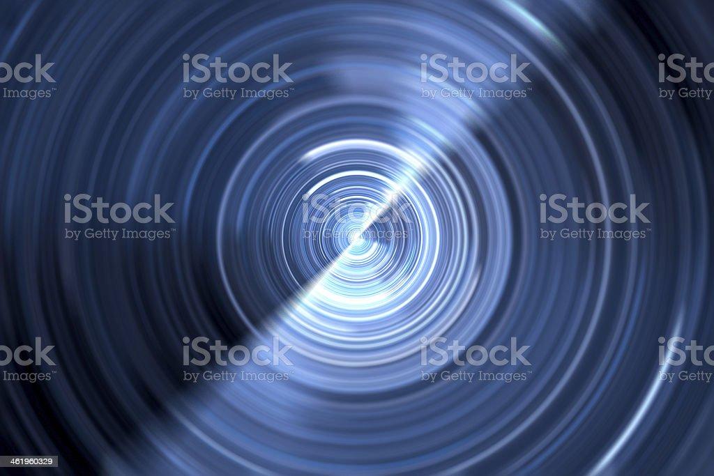 Rotating light source royalty-free stock photo