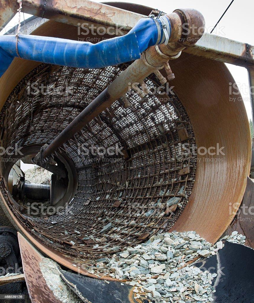 Rotating Sluice stock photo