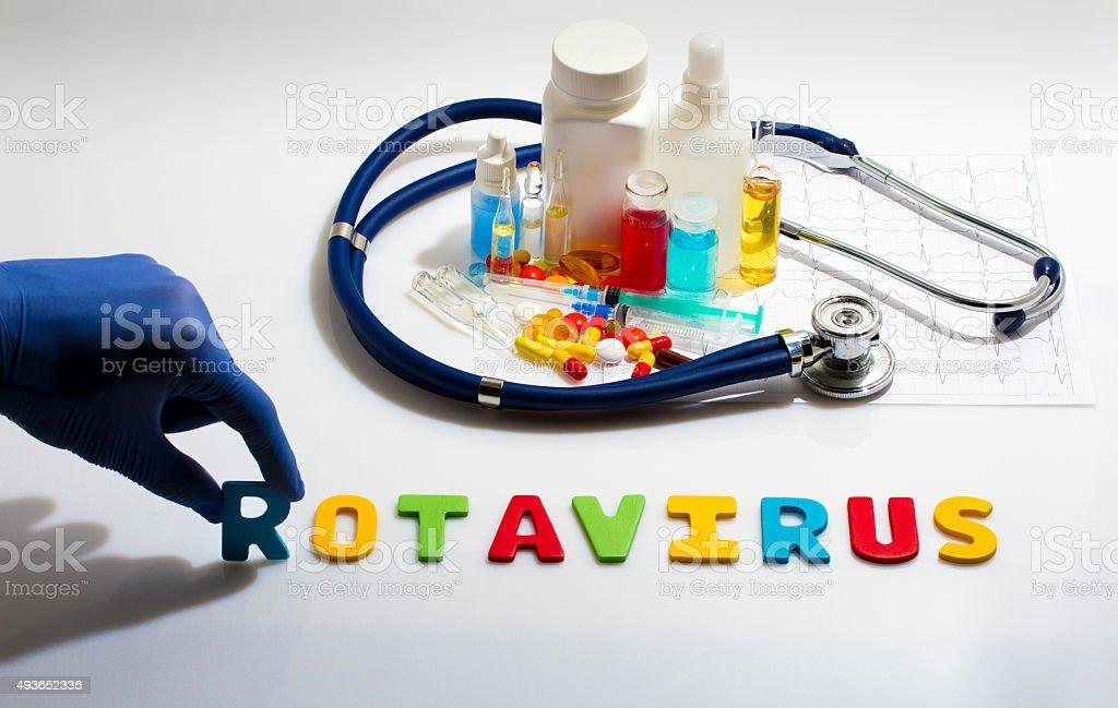 Rotavirus stock photo
