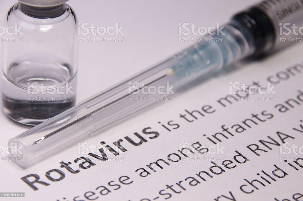 Rotavirus Vaccine stock photo