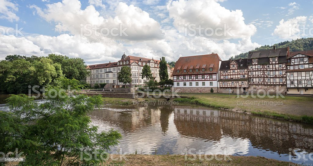 rotenburg an der fulda hessen germany stock photo
