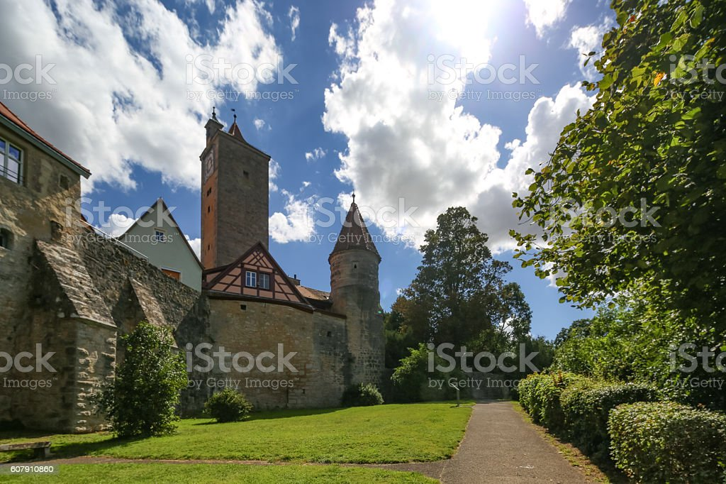 Rothenburg in Germany stock photo