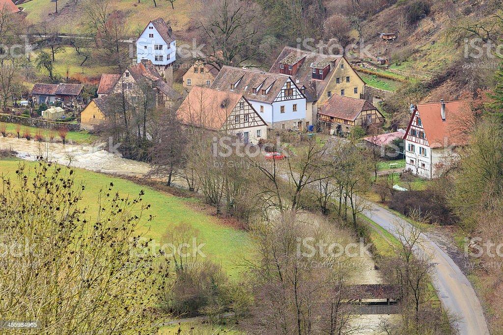 Rothenburg ob der Tauber, Germany royalty-free stock photo
