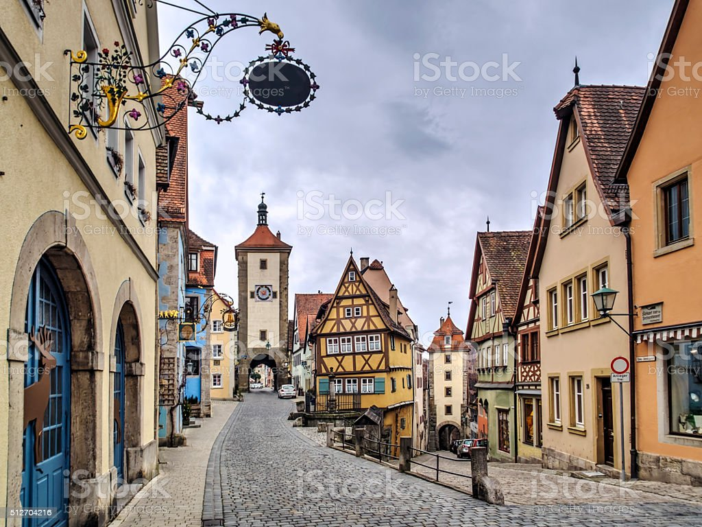 Rothenburg stock photo