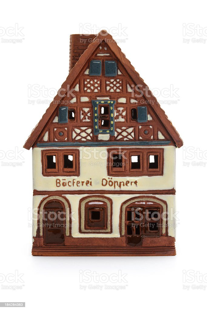 Rothenburg souvenir ceramic shop royalty-free stock photo