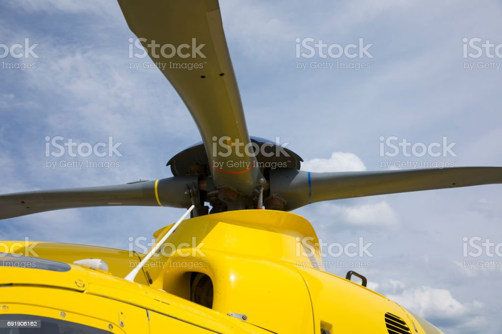 Rotor blade stock photo
