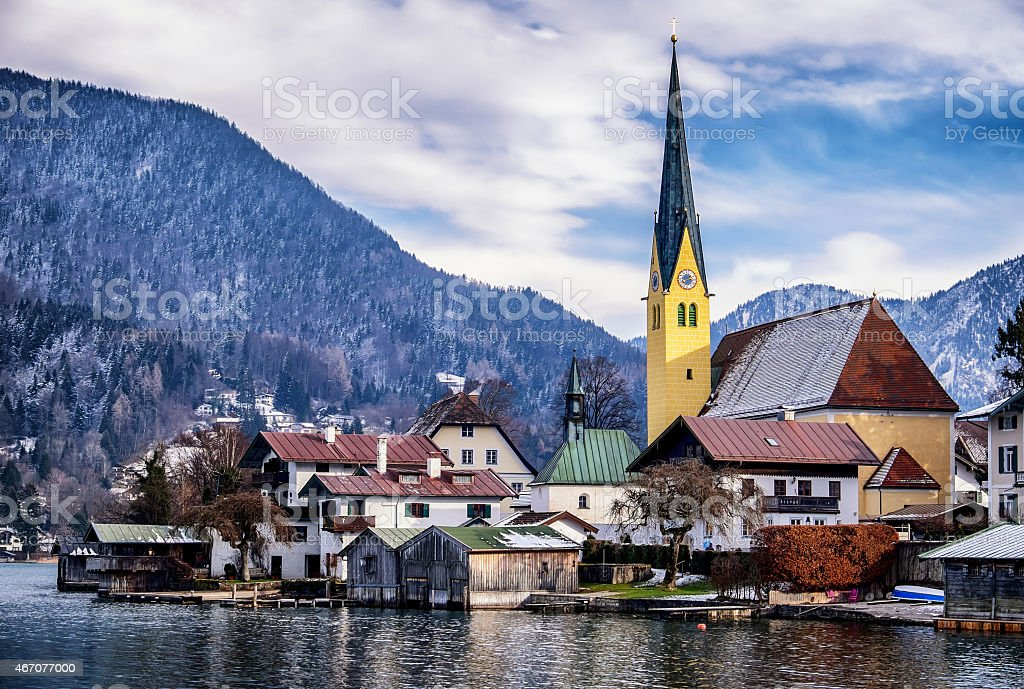 rottach-egern stock photo