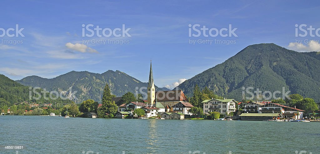 Rottach-Egern,Tegernsee,Bavaria,Germany stock photo