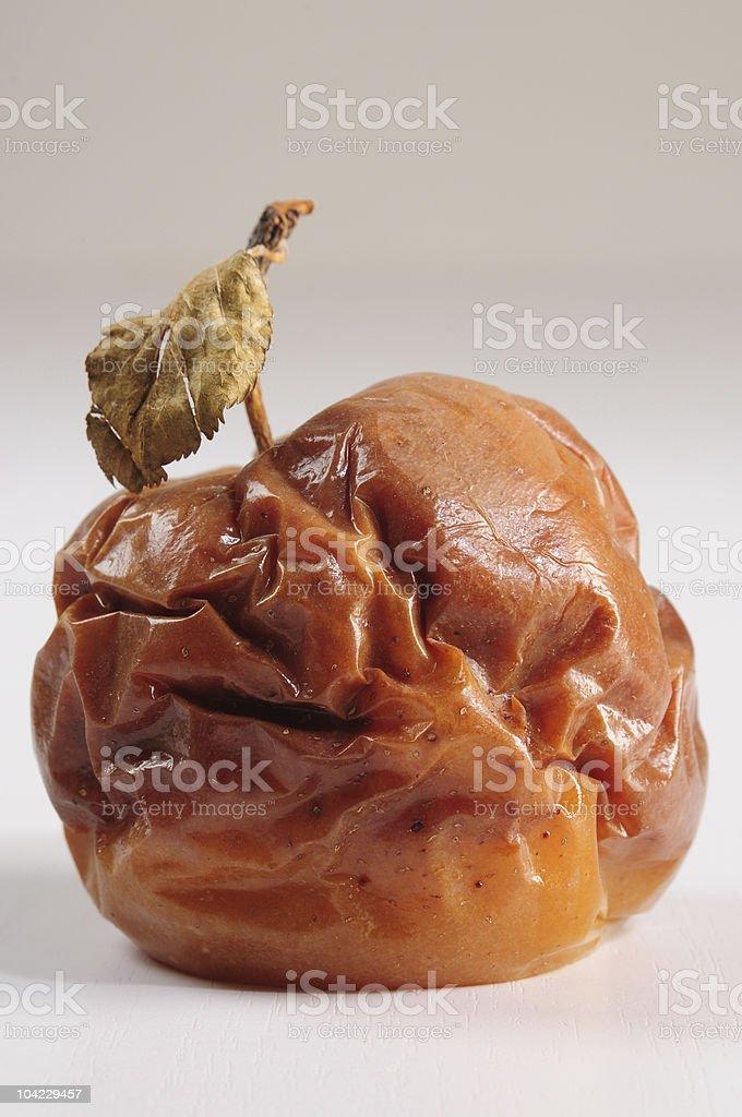 Rotten apple. royalty-free stock photo