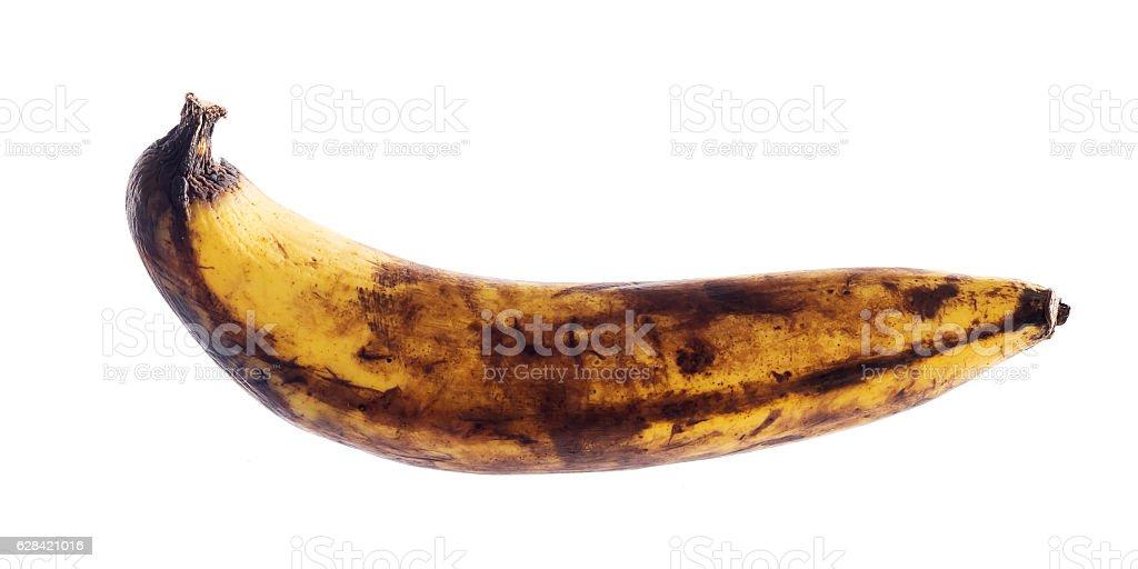 Rotten banana stock photo
