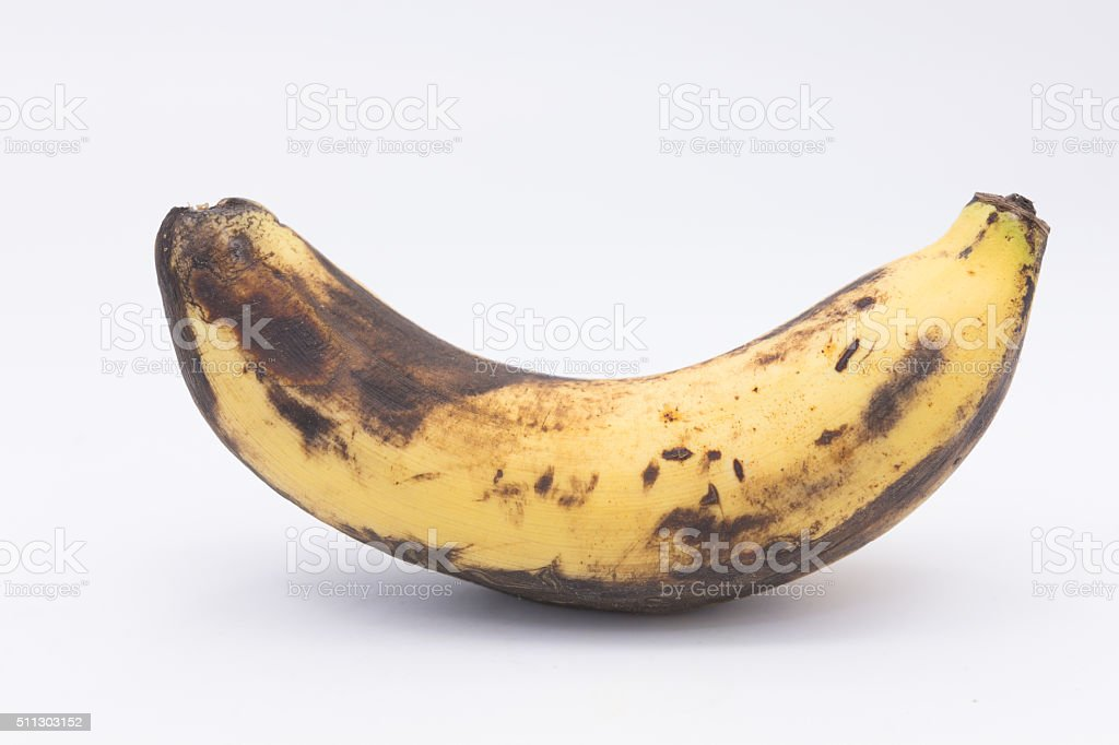 rotten bananas,sexually transmitted disease concept stock photo
