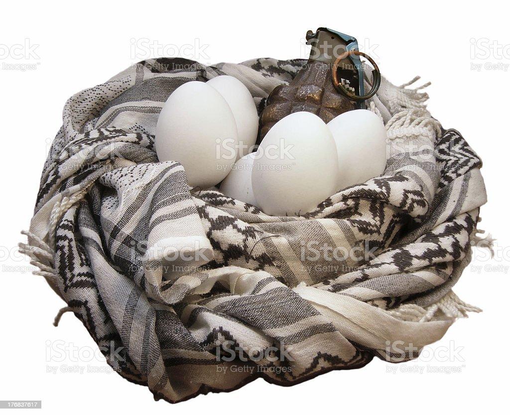 Rotten Egg royalty-free stock photo