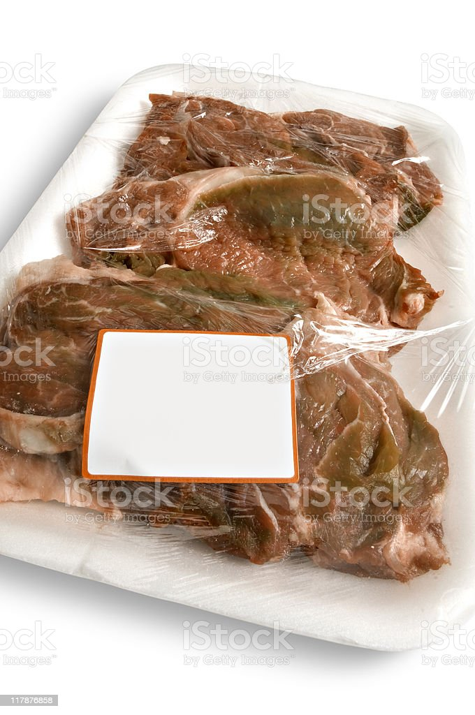 rotten meat royalty-free stock photo