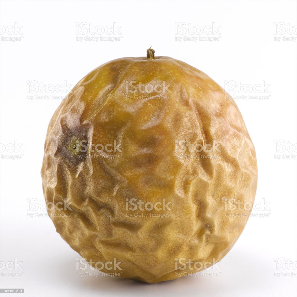 Rotten Passion Fruit (Grenadillas) royalty-free stock photo