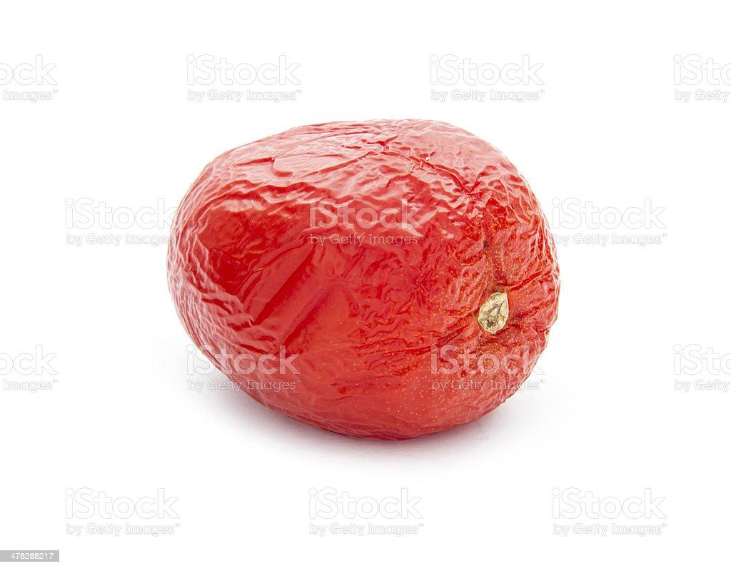 rotten tomato royalty-free stock photo