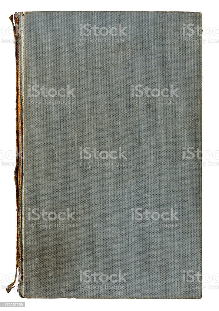 rotten,gray, linen book cover royalty-free stock photo