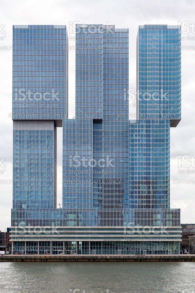 Rotterdam architecture stock photo