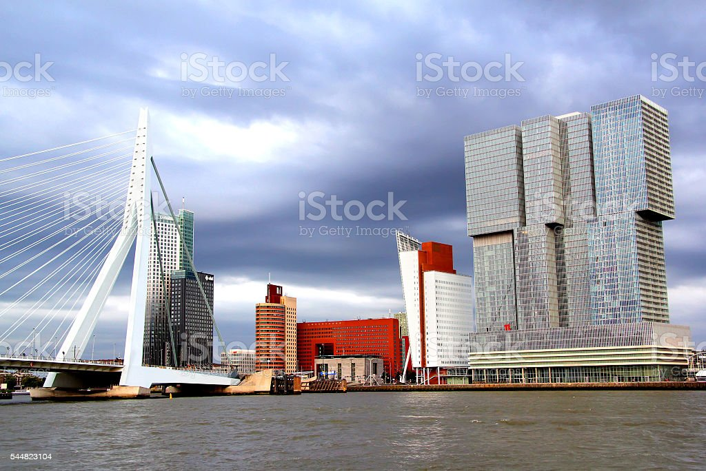 Rotterdam, the Netherlands stock photo