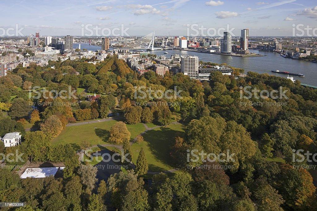 Rotterdam view # 7 XL stock photo