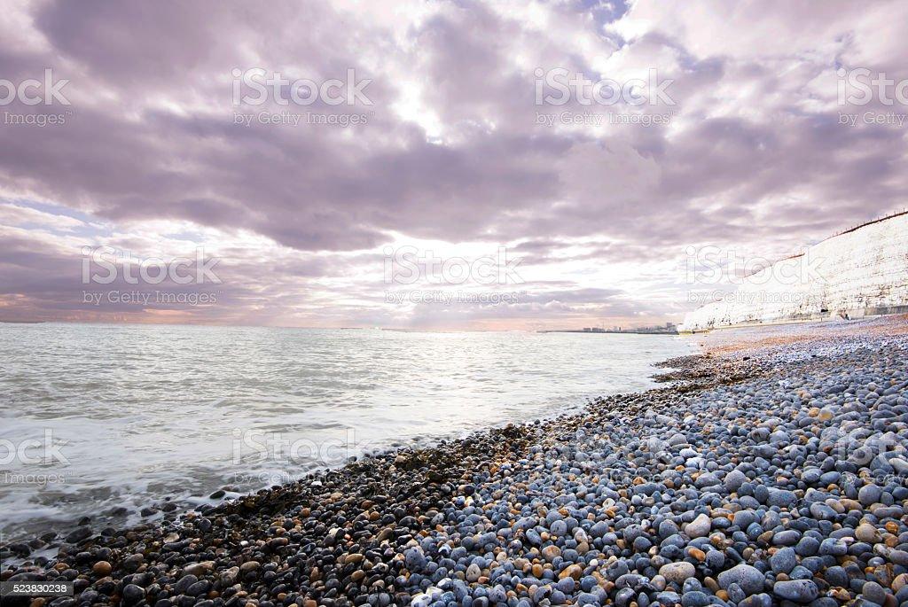 Rottingdean Beach UK stock photo