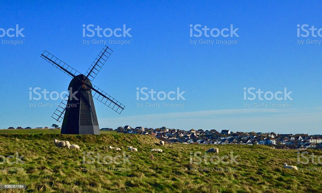 Rottingdean Mill stock photo